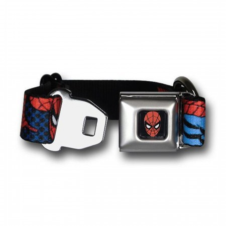 Spiderman Dog Collar