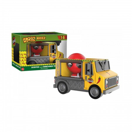 Deadpool Chimichanga Truck Dorbz Ridez