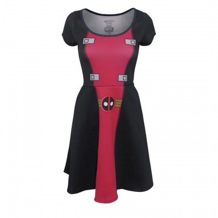 Deadpool Suit Up Women's Dress