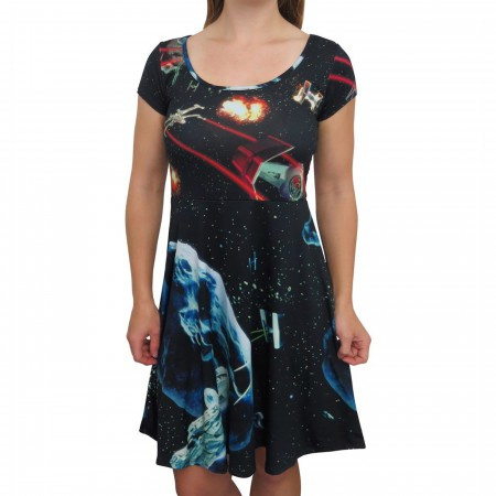 Star Wars Dog Fight Women's Dress