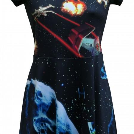 Star Wars Dog Fight Women's Dress