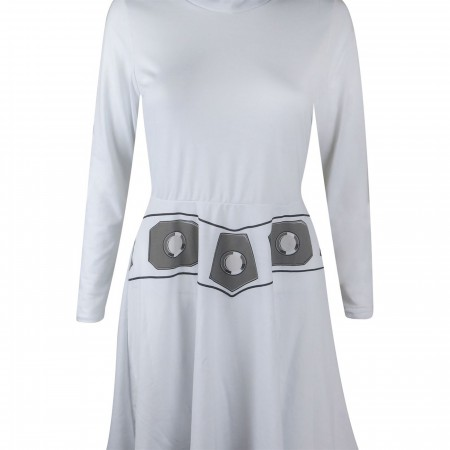 Star Wars Leia Hooded Women's Skater Dress