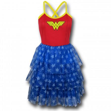 Wonder Woman Women's Mini Skirt Dress