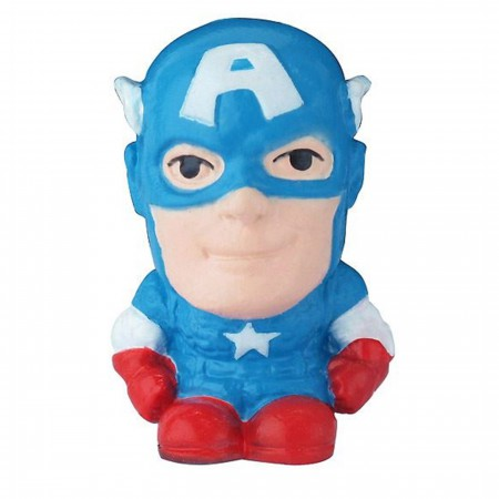 Captain America Deformed Pencil Eraser Topper