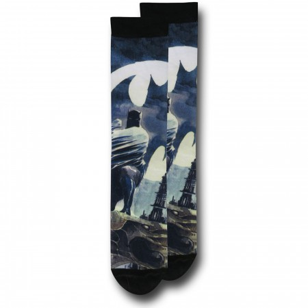 Batman Sublimated Socks