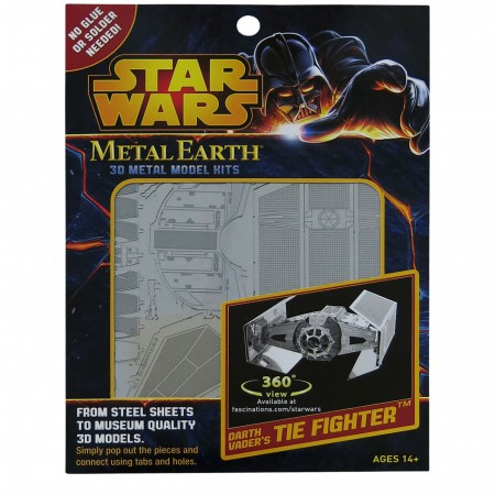 Star Wars Darth Vader TIE Metal Earth Model Kit