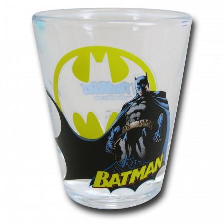 Batman Stance Mini Glass