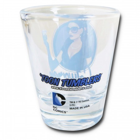 Catwoman DC Bombshell Mini Glass
