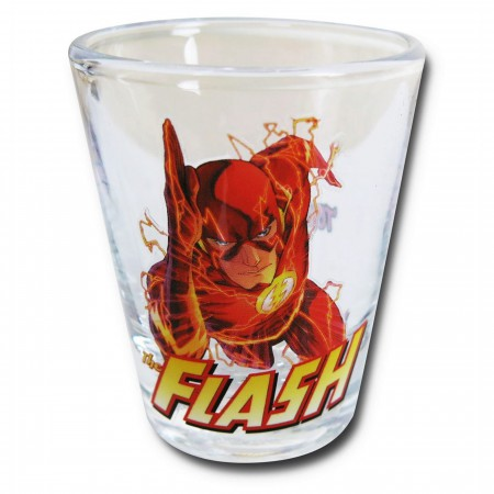 Flash in Action Mini Glass