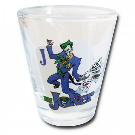 Joker Cards Stance Mini Glass