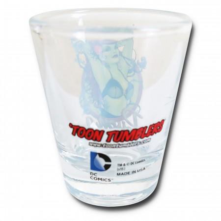 Poison Ivy Bombshell Mini Glass