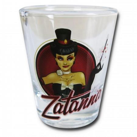 Zatanna Bombshell Mini Glass