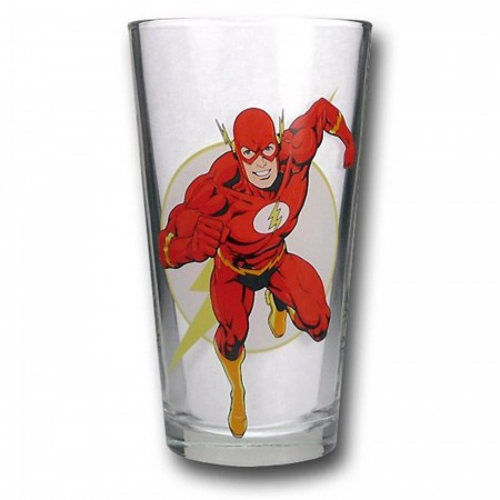 Flash Pint Glass