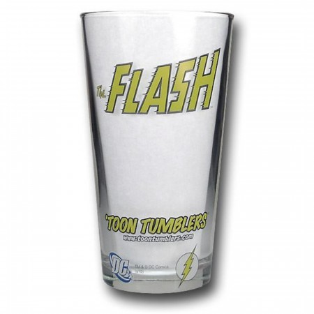 Flash Pint Glass