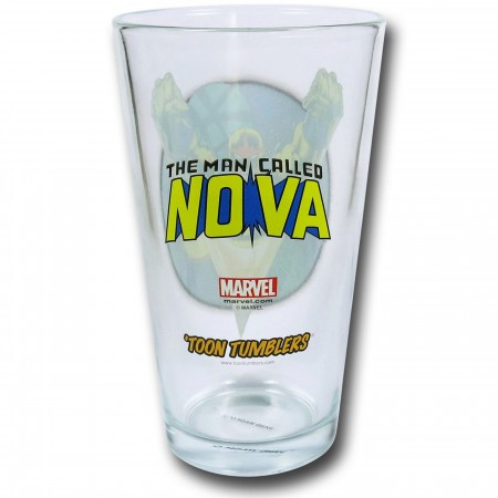 Nova Clear Pint Glass