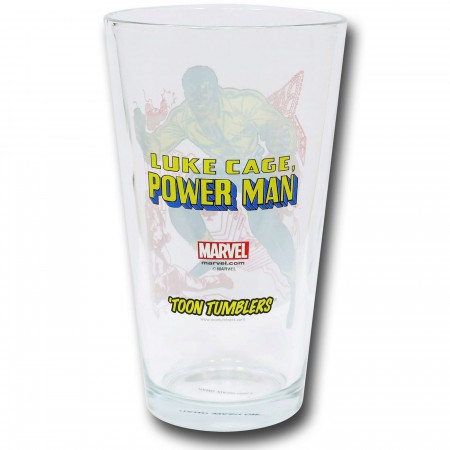Power Man Pint Glass