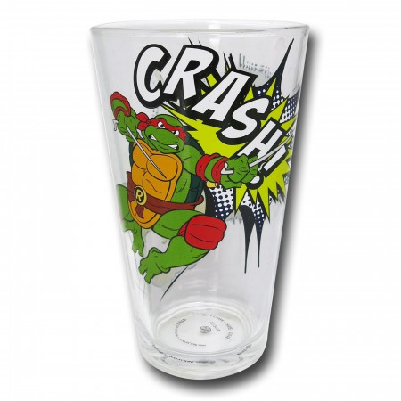 TMNT Action Pint Glass Set of 4