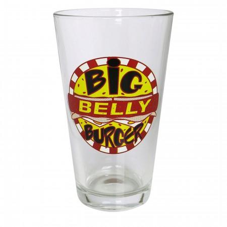 Arrow Big Belly Burger Pint Glass