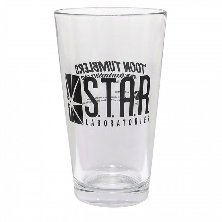 Flash Star Labs Pint Glass