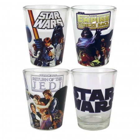 Star Wars Originals Mini Glass 4-Pack