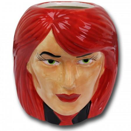 Black Widow Ceramic Character Mug
