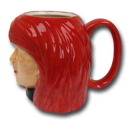 Black Widow Ceramic Character Mug