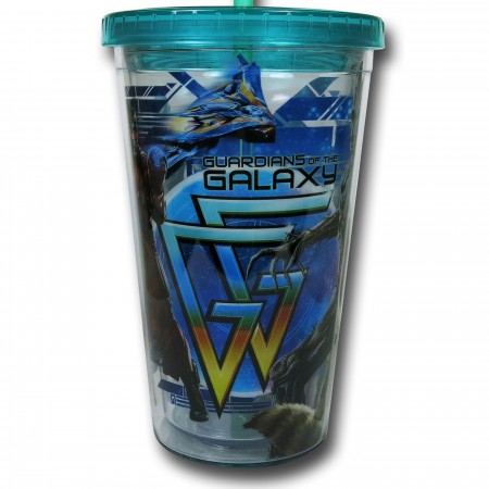 Guardians of the Galaxy Acrylic Travel Cup