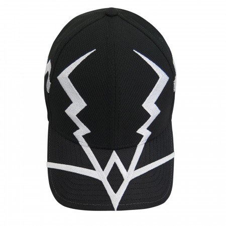 Black Bolt Costume Armor 39Thirty Fitted Hat