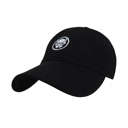 Black Panther Logo Adjustable Low Profile Hat