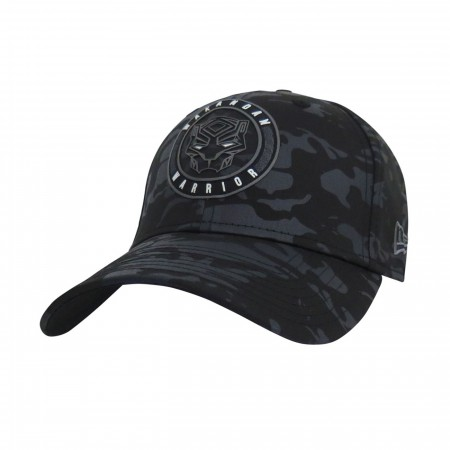 Black Panther Wakanda Warrior Camo 39Thirty Fitted Hat