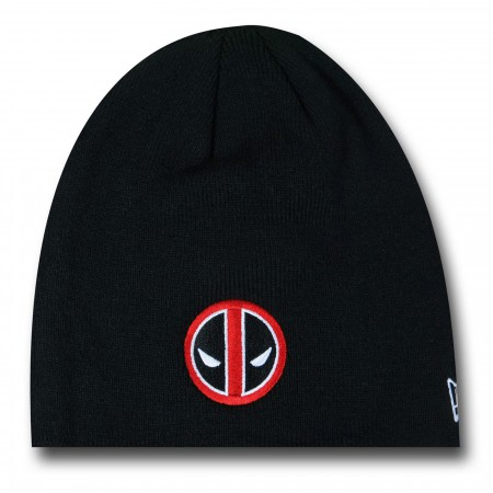 Deadpool Symbol Black New Era Beanie
