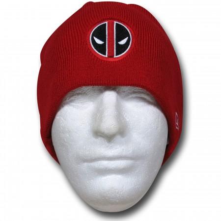 Deadpool Symbol Red New Era Beanie