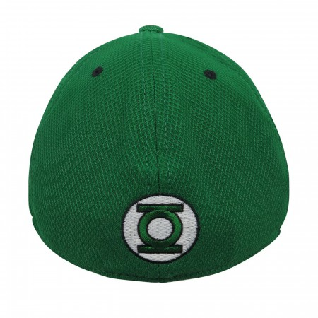 Green Lantern Symbol Glow Armor 39Thirty Fitted Hat