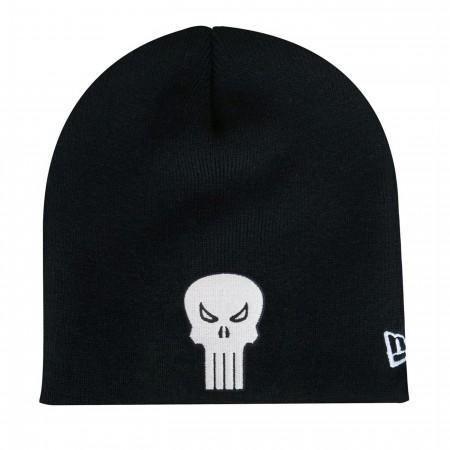 Punisher Symbol Black New Era Beanie