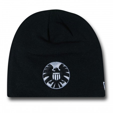 SHIELD Symbol Black New Era Beanie