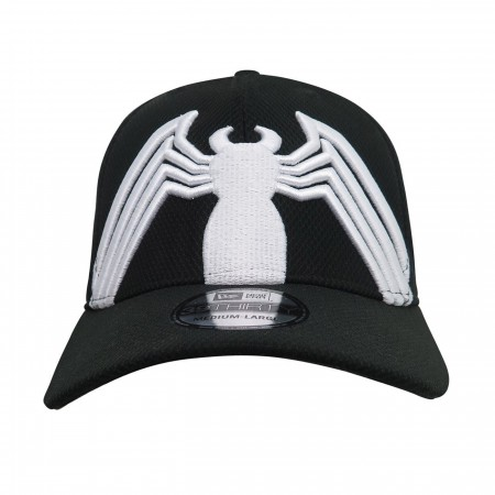 Spider-Man Black Suit Armor with Kraven Lining 39Thirty Fitted Hat