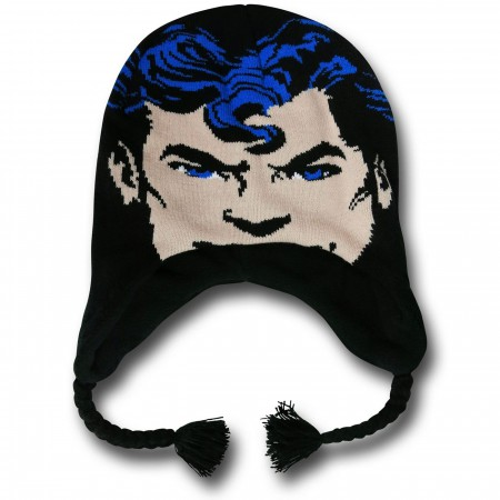 Superman Face Kids Peruvian Cap
