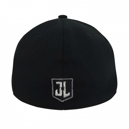 Superman Black Armor Justice League 39Thirty Fitted Hat