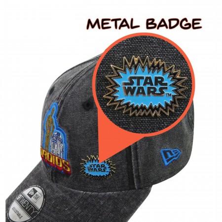 Star Wars 40th R2D2 & C3PO 9Twenty Adjustable Hat