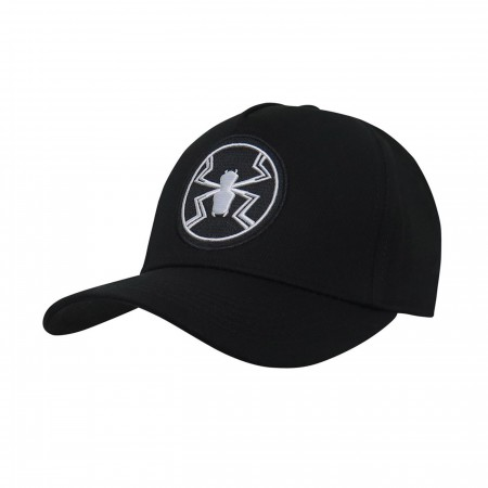 Agent Venom Logo Adjustable Snapback Hat