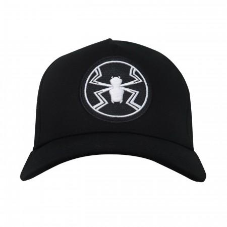 Agent Venom Logo Adjustable Snapback Hat