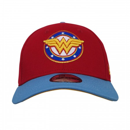 Wonder Woman Stars Logo 9Forty Adjustable Youth Hat