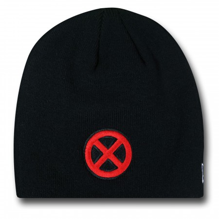 X-Men Symbol Black New Era Beanie