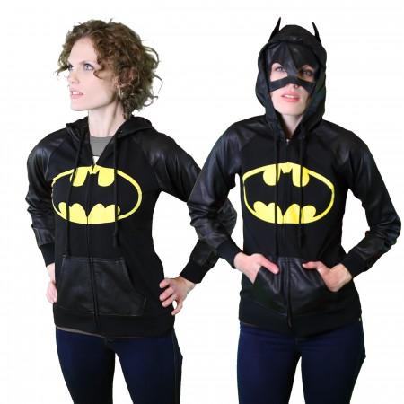 Batman Mask & Hood Women's Hoodie