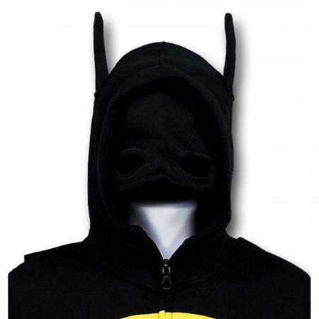 Batman Kids Cowl and Cape Costume Hoodie