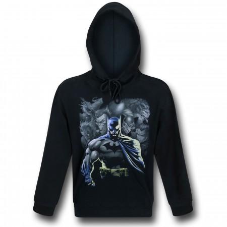 Batman Rogues Reminder Pullover Hoodie