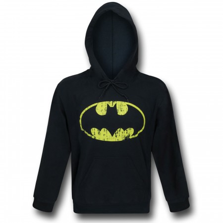 Batman Distressed Symbol Pullover Hoodie