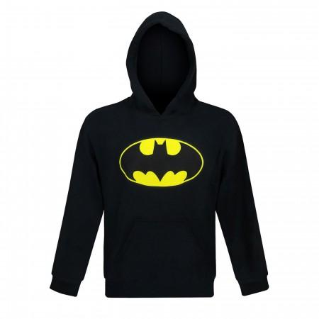 Batman Symbol Youth Hoodie