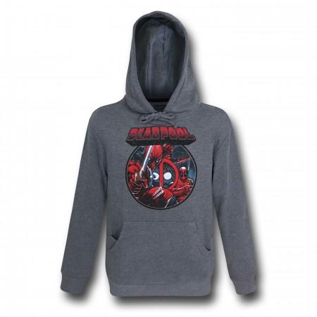 Deadpool Image Circle Pullover Hoodie