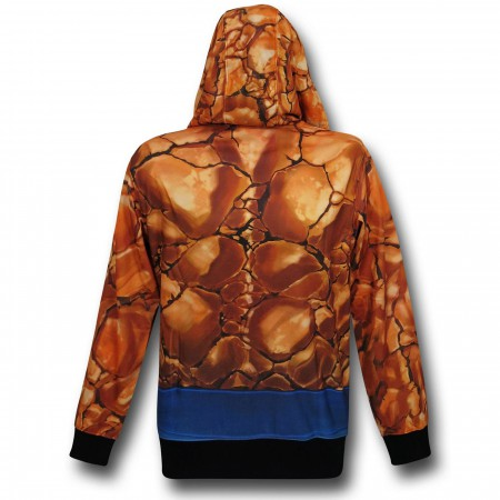 Fantastic Four Thing Lightweight Costume Hoodie